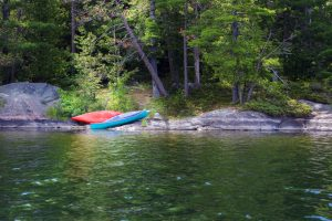 North Frontenac Parklands - Canoes