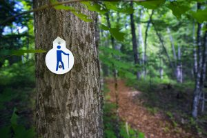 North Frontenac Parklands - Trail Marker